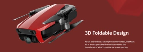 5b. DJI Mavic Air Foldable Camera Quadcopter e1560106052980