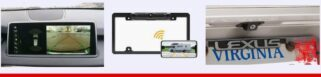License Plate Wireless Backup Cameras Image