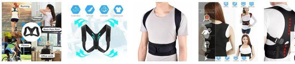 Posture Clavicle Corrector Back Straight Shoulders Support Brace Strap