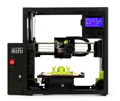 LulzBot Mini 2 Desktop 3D Printer in operation