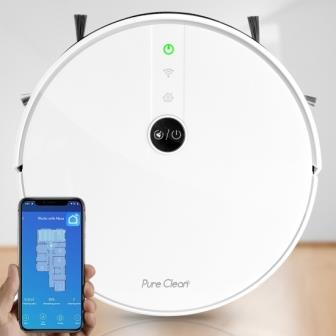 Best Pure Clean Smart Robot Cleaner with Gyroscope navigation