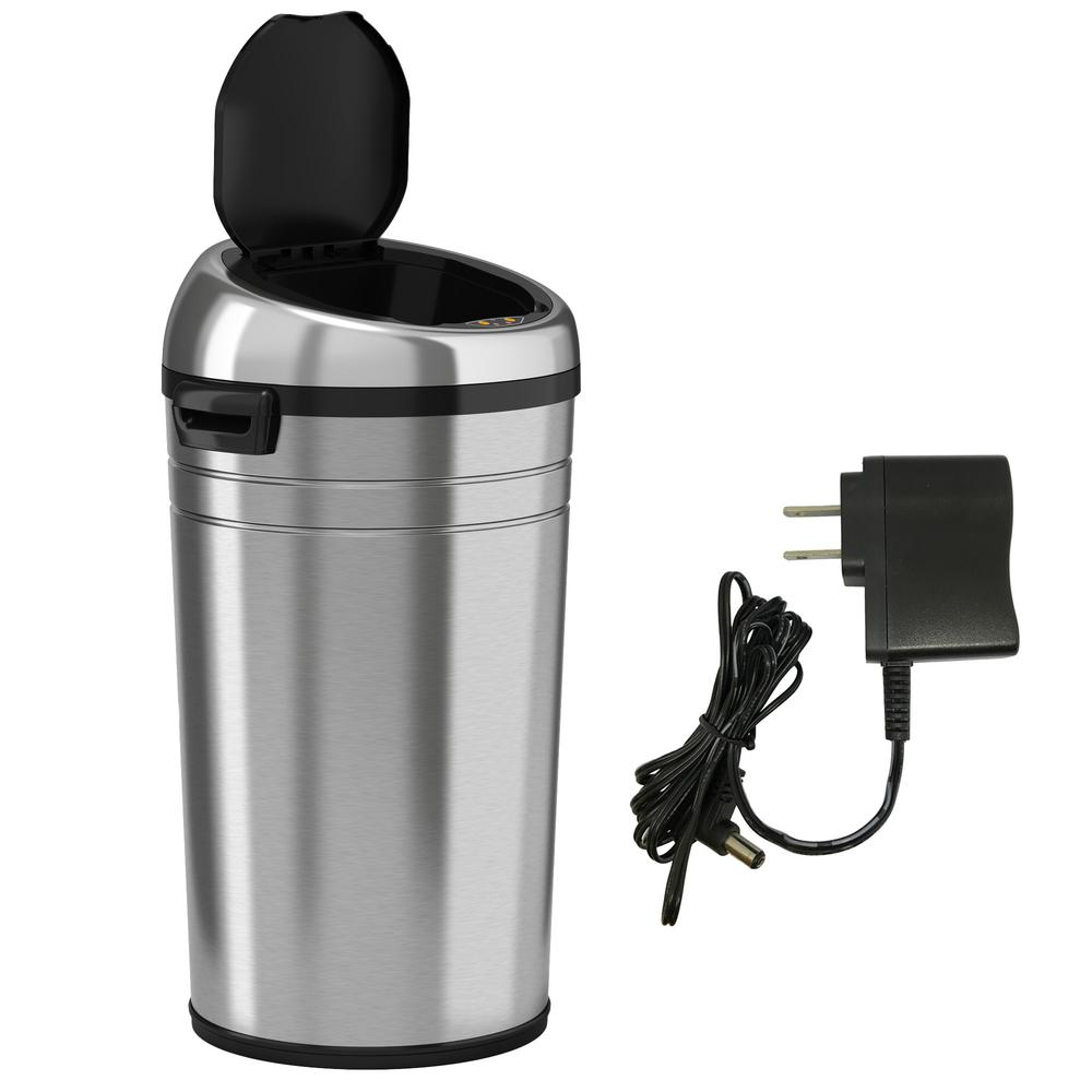 Smart iTouchless 23 Gallon Commercial Size Sensor Trash Can