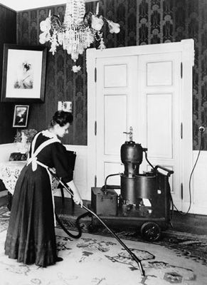This is the First Siemens vacuum cleaner 1906