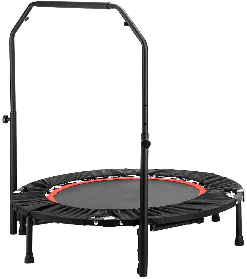 Kshioe Foldable 2-in-1 Trampoline for outdoor use