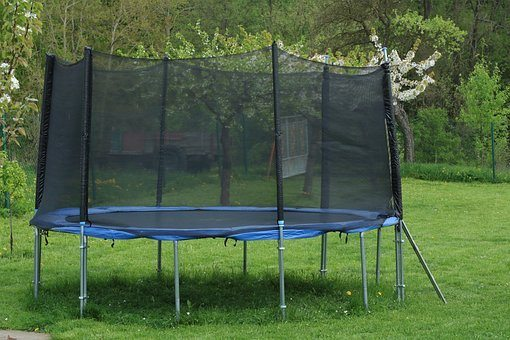 outdoor trampoline for kids