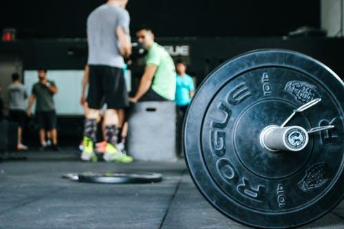 Barbell for weight training