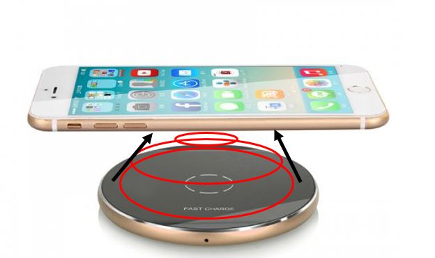 Induction wireless charging