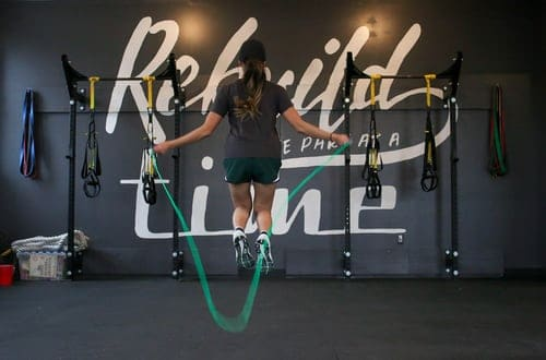 simple Jump rope for great calorie-burning. for home use