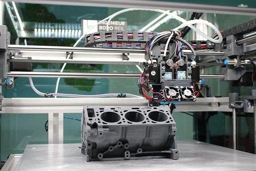 Engine 3d printed block