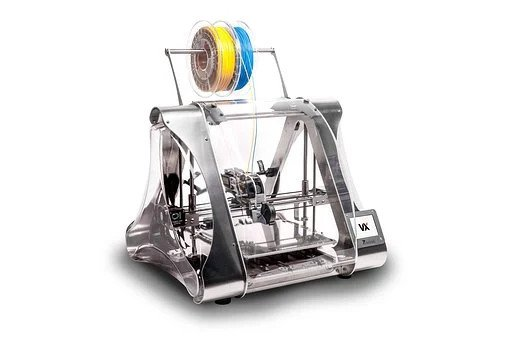 two 3d printing Reels on a 3d printer