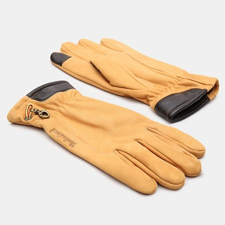 Leather Gloves Nubuck Glove With Touchscreen tips