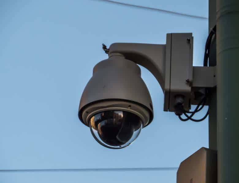 Wired security cameras have one advantage in that they will often receive power.