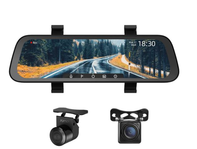 70mai 1080P 9.35Inch Stream Media Car DVR Dash Cam