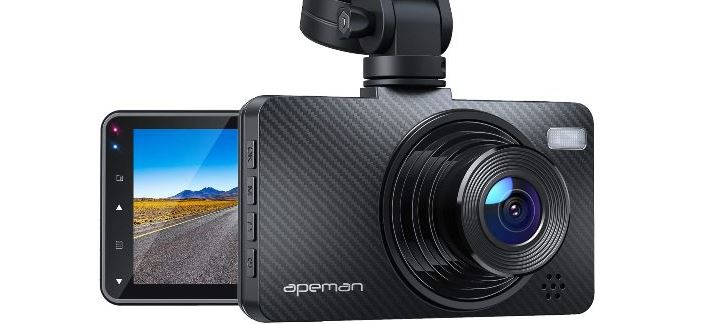"APEMAN Dash Cam 1080P Car Camera with 3"" LCD Screen"