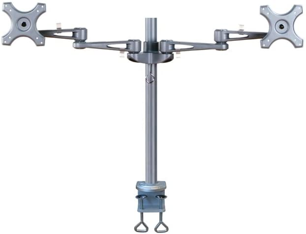 Newstar Fpma-D935D - Mounting Kit ( Desk Clamp Mount, 2 Articulating Arms ) For 2 Lcd Displays ( Tilt & Swivel )