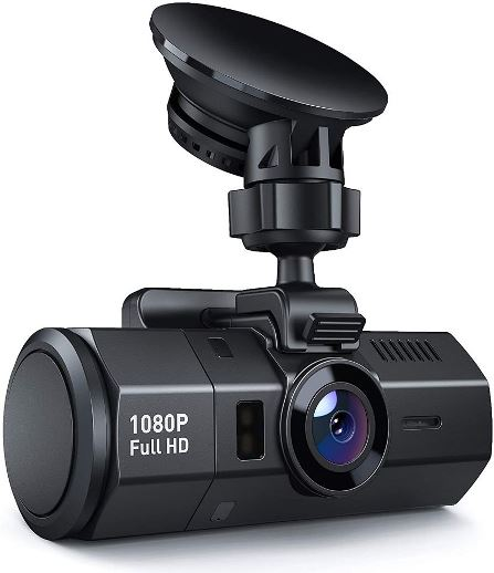 Crosstour Dash Cam 1080P HD Video Recorder for Cars
