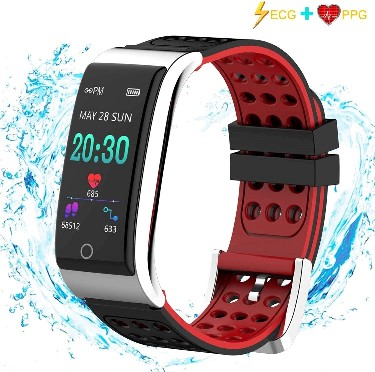 ISWIM Fitness Tracker Innovative and Professional ECG + PPG monitor, Adopting the technology of the combination of ECG + PPG