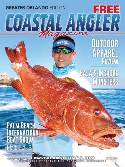 The Angler Magazine, are monthly editions dedicated to fishing, boating, and outdoor enthusiasts.