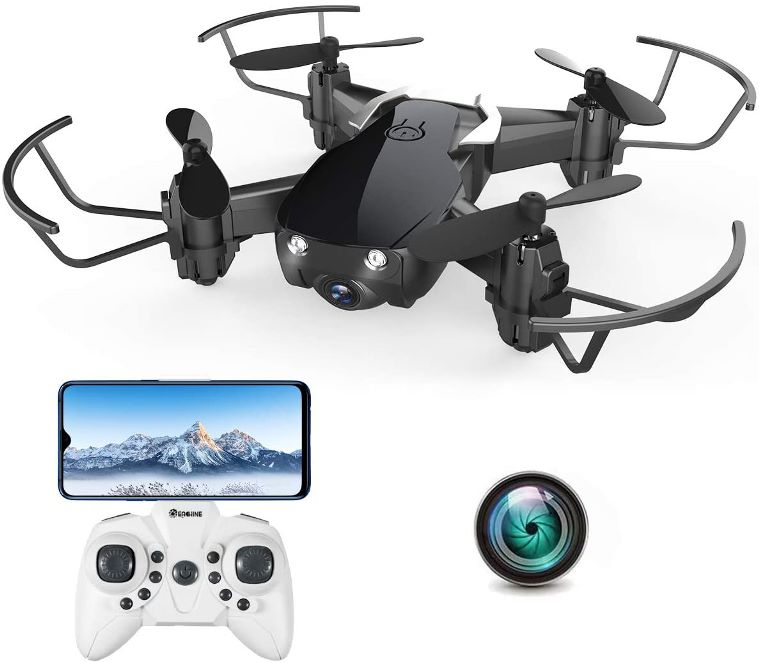 EACHINE RC-Foldable Selfie Pocket Drone