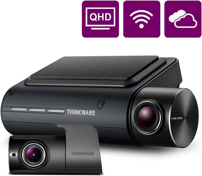 THINKWARE Q800PRO Dual Dash Cam Front and Rear Camera for Cars