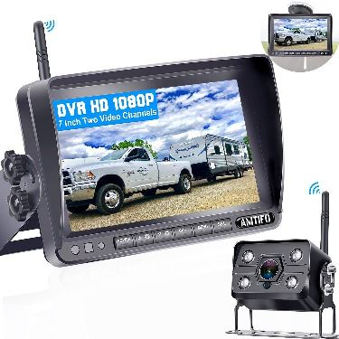 Amtifo- Best HD Digital Wireless Backup Camera System with With Stable signal.