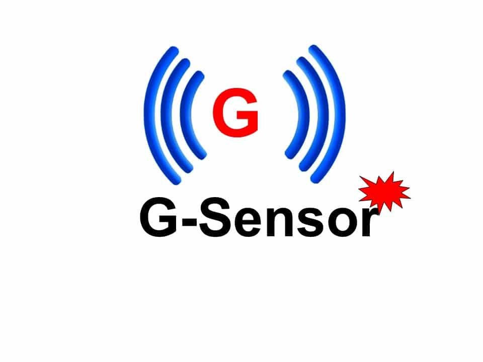 What is a G sensor in car